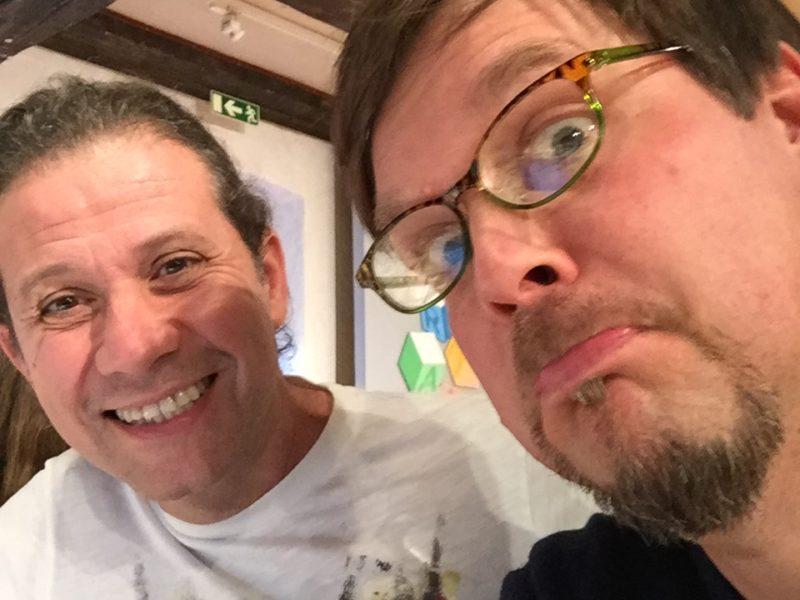 Roger Mello och Mattias Olsson